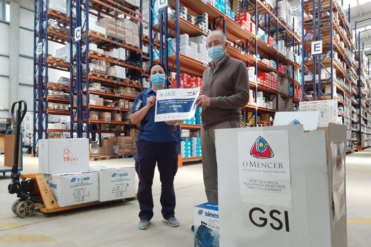 Entrega O MENCER donativo GSI
