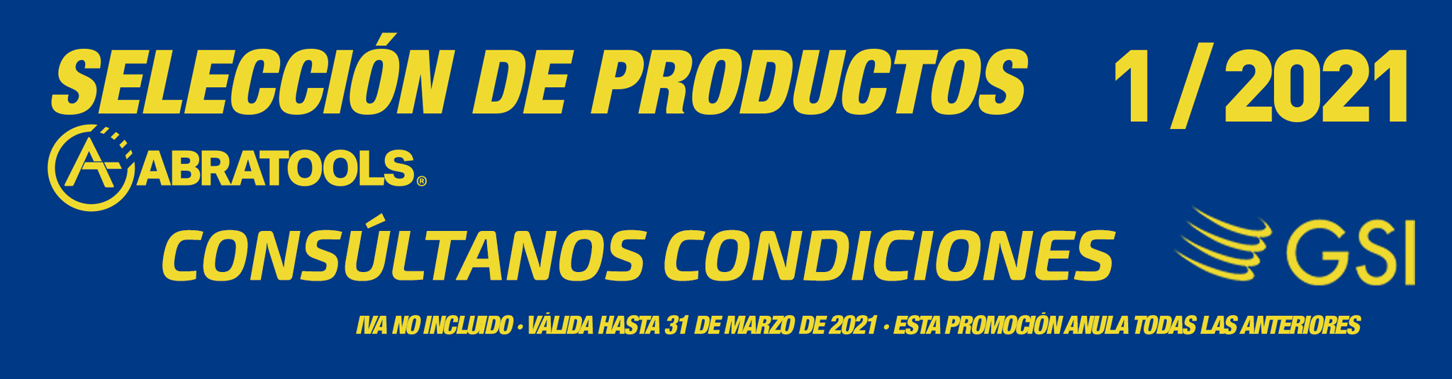 SELECCION DE PRODUCTOS ABRATOOLS